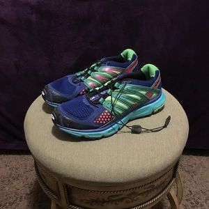 Salomon XR Mission 1 Door to Trail Sneakers Size 7